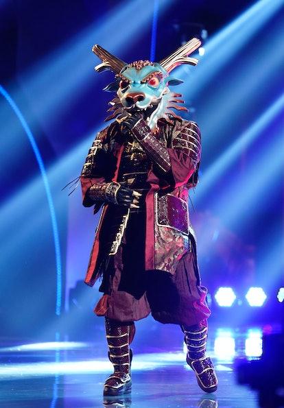 Dragon in the 'Masked Singer' Season 4 premiere via Fox's press site