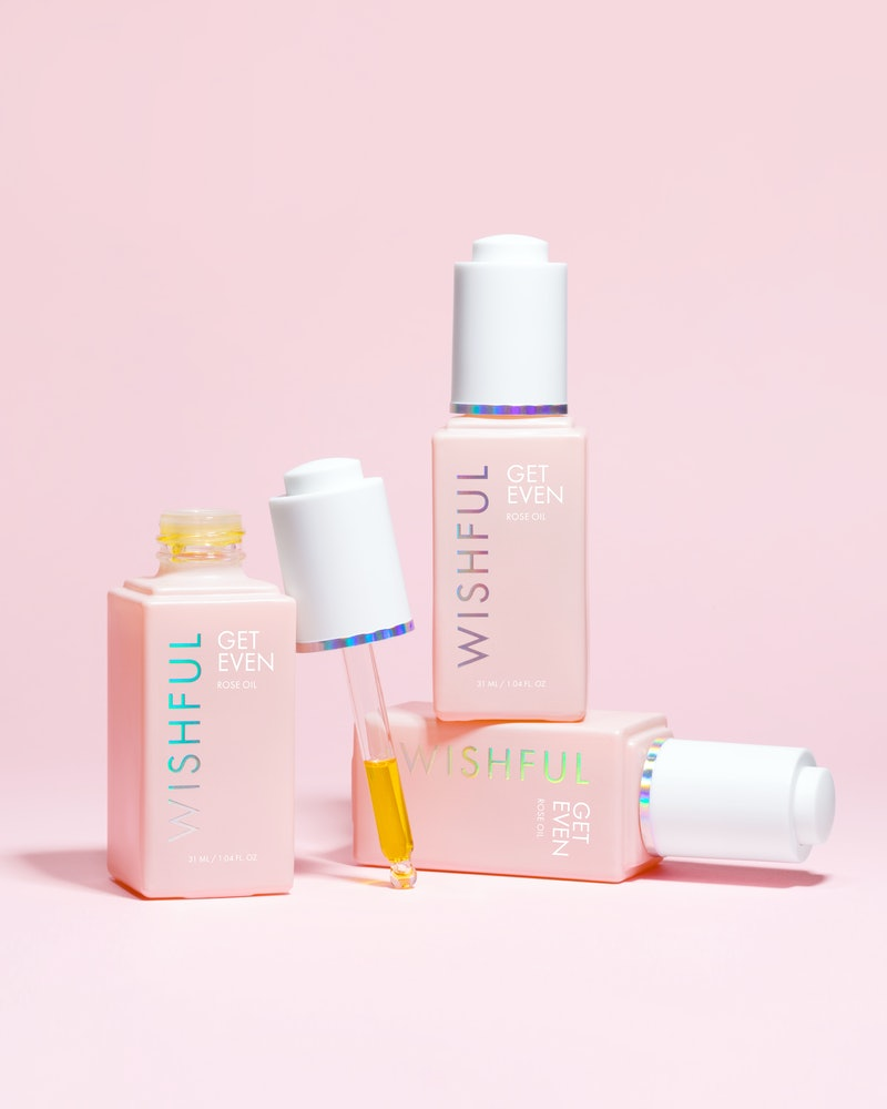WIshful's newest product is a rose facial oil,