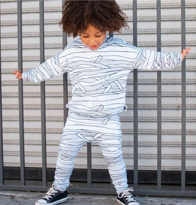 Mummy Costume Long Sleeved Shirt & Harem Pants