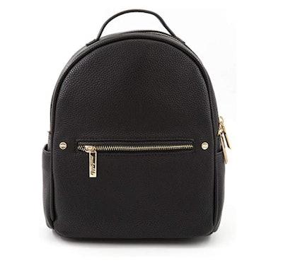 EMPERIA Karis Faux Leather Mini Fashion Backpack