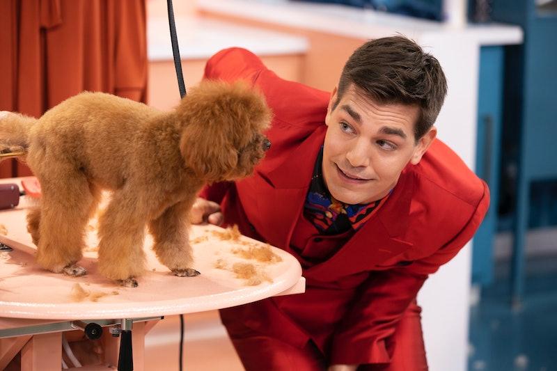 Matt Rogers on Haute Dog via the Warner Media press site