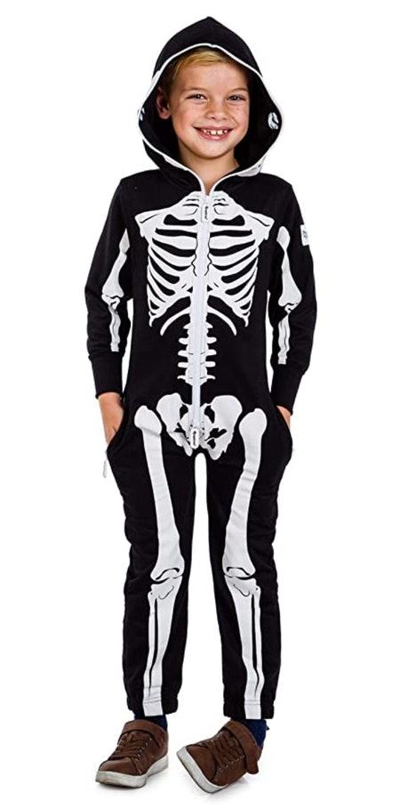 Youth Unisex Skeleton Costume