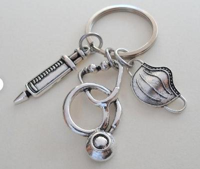 Medical Staff Appreciation Gift Keychain