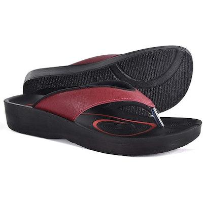 AEROTHOTIC Original Orthotic Comfort Thong Style Flip Flops