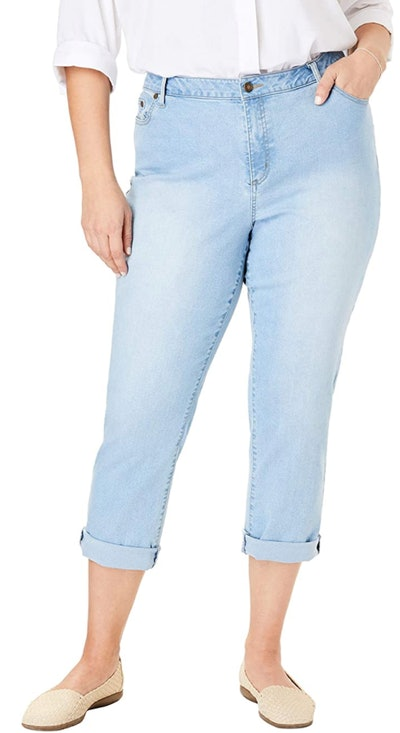 Woman Within Women's Plus Size Girlfriend Stretch Jean