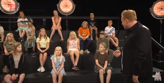 A Danish children's show featuring naked adults has sparked controversy.