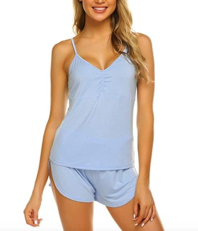 Ekouaer Pajama Set