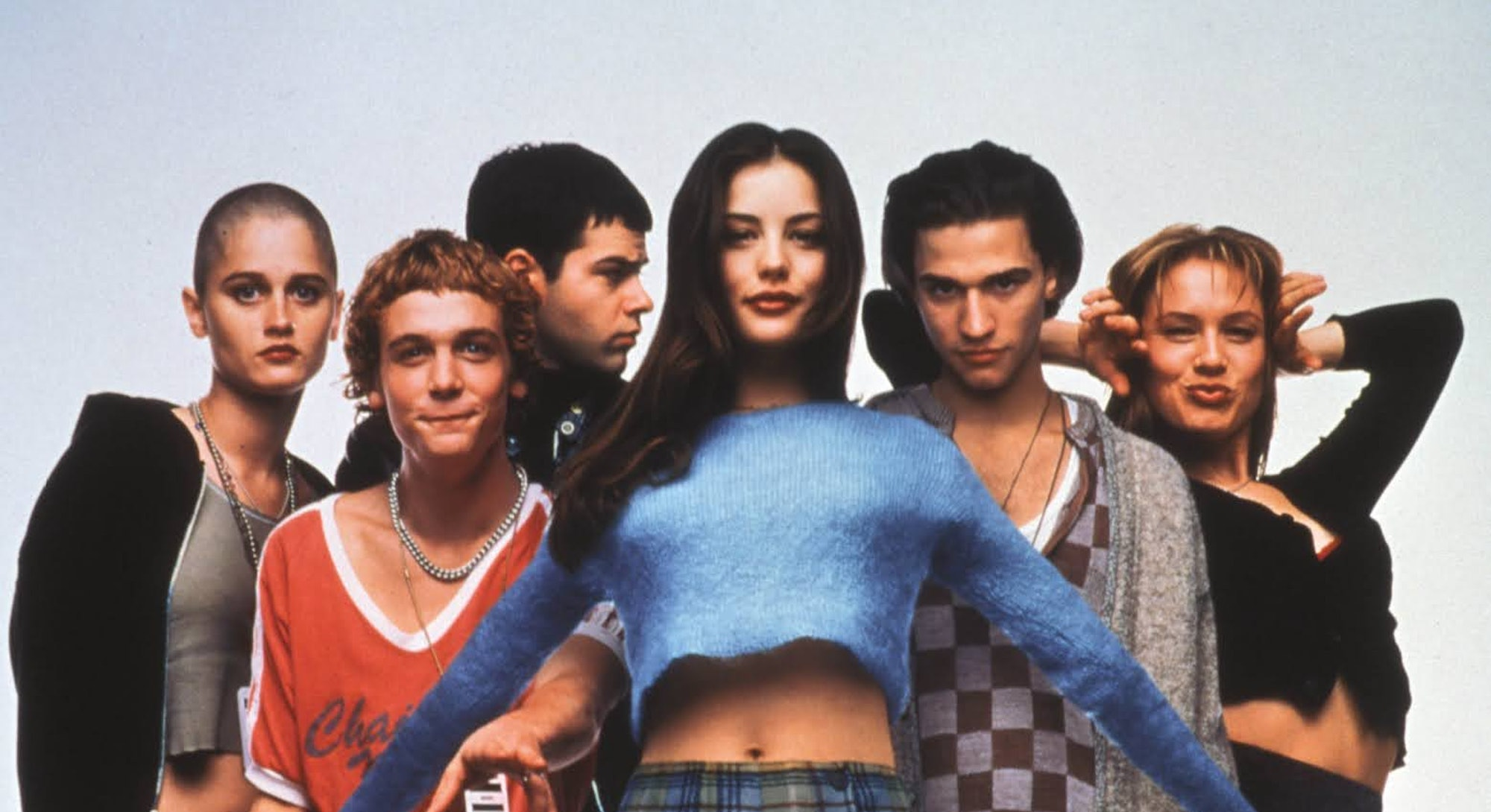 Cast of Empire Records in 1995.