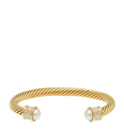 Gold Plated Maya Torque Bangle