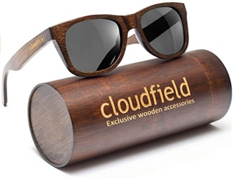 cloudfield Polarized Wood Sunglasses