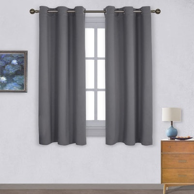 NICETOWN Thermal Insulated Grommet Blackout Curtains (2-Pack)