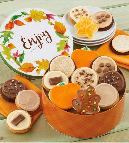 Fall Gift Tin Frosted Assortment