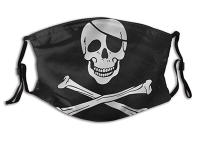 Jolly Roger Flag Mask