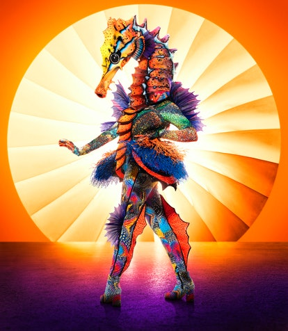 Seahorse from 'The Masked Singer' Season 4 via Fox's press site