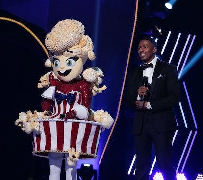 Popcorn in the 'Masked Singer' Season 4 premiere via Fox's press site