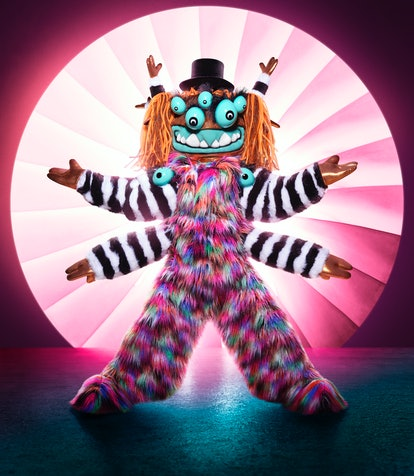 The Squiggly Monster from 'The Masked Singer' Season 4 via Fox's press site