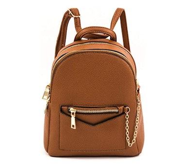 EMPERIA Kayli Faux Leather Mini Fashion Backpack