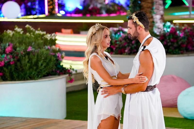 Connor Trott and Mackenzie Dipman on 'Love Island' Season 2 via CBS Press Site