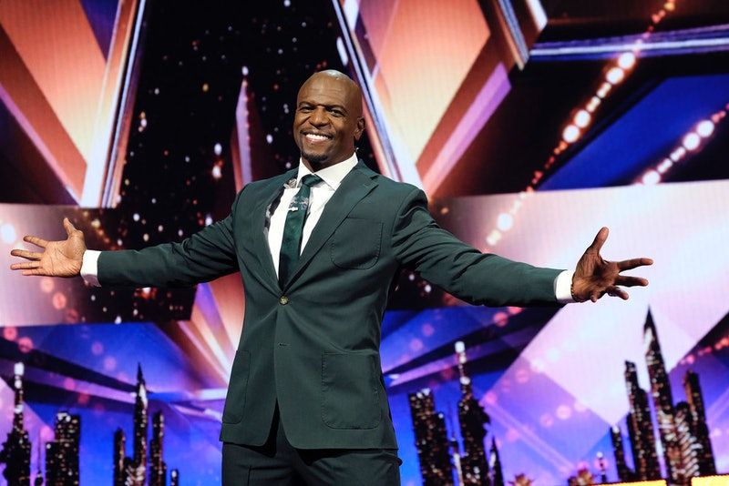 Terry Crews on America's Got Talent via the NBC press site