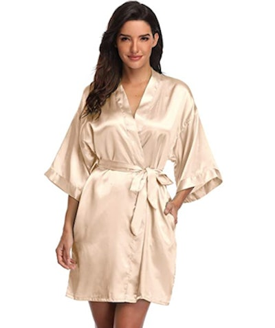 Super Shopping-zone Silky Robe