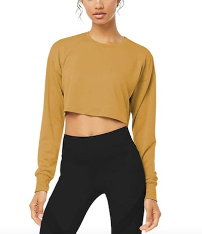 Bestisun Long Sleeve Crop Top