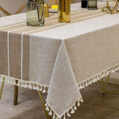 Deep Dream Tassel Tablecloth