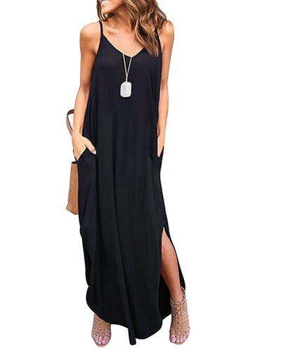 HUSKARY Tank Maxi Dress