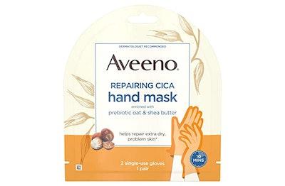 Aveeno Repairing CICA Hand Mask (5-Pack)
