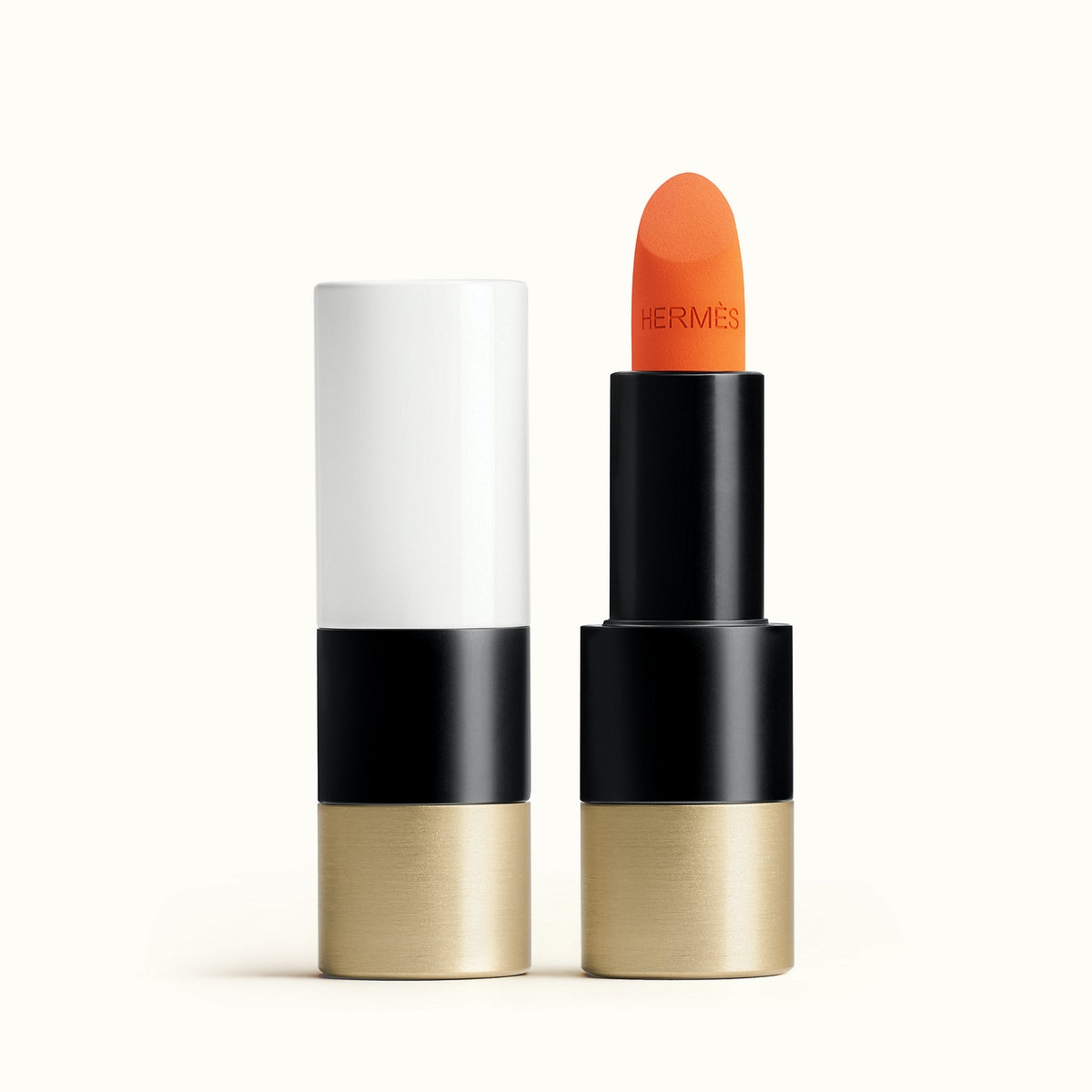 Rouge Hermes, Matte lipstick, Orange Boîte
