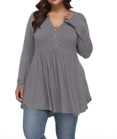 Allegrace Plus-Size Tunic