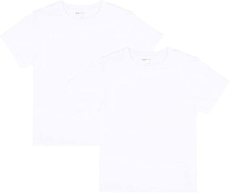 JIAHONG Unisex Kids 2-Pack Short Sleeves Crewneck T-Shirt for Boys and Girls (3-12 Years)