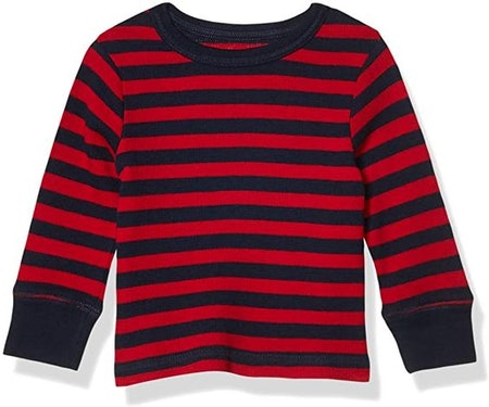 The Children's Place Baby Boys Long Sleeve Striped T-Shirt