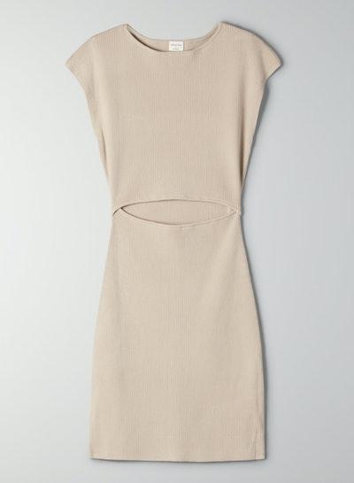 Cut-Out Knit Dress