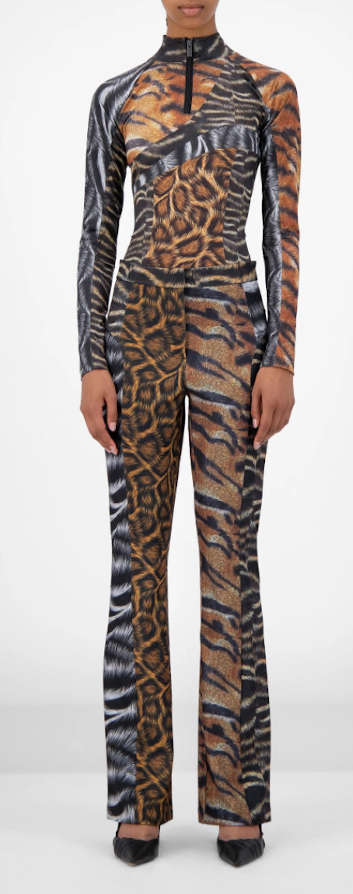 Animal Print Jannet Pants