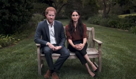 During a rare appearance on primetime TV on Tuesday, Prince Harry and Meghan Markle stressed the imp...