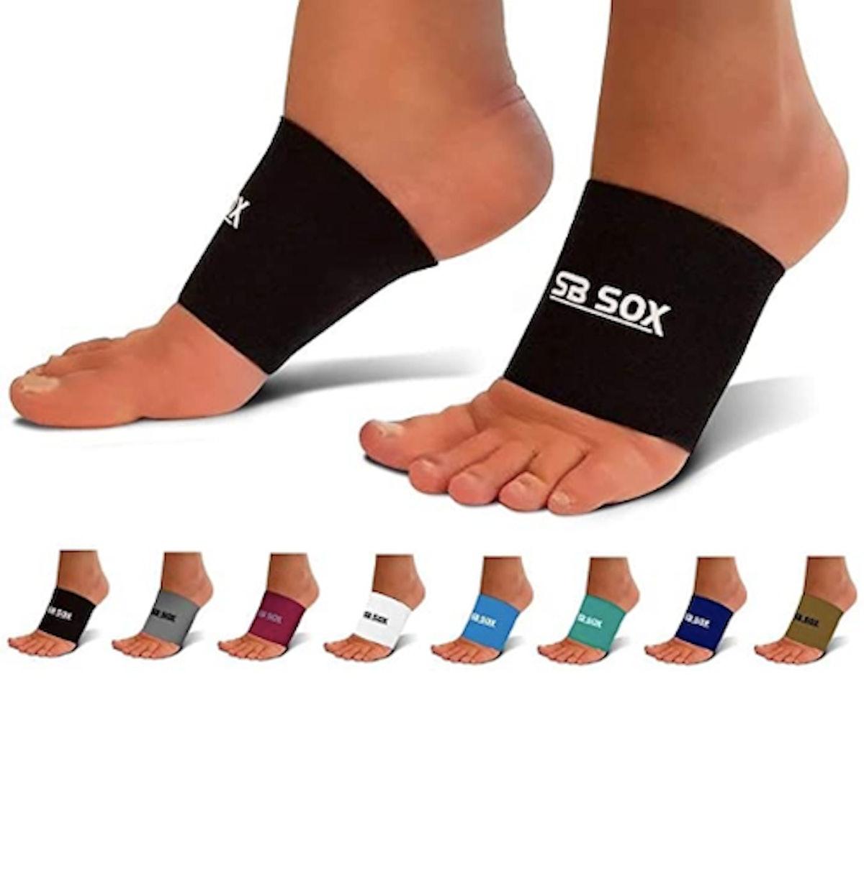 SB SOX Compression Arch Sleeves