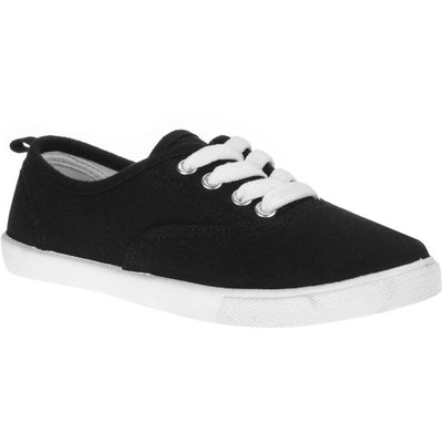 Faded Glory Girls' Lace-Up Canvas Casual Shoe