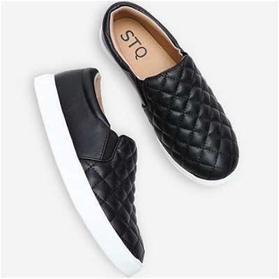 STQ Quilted Slip On Sneakers