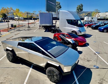 Tesla's four-car lineup.