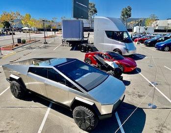 Tesla's four-car lineup.