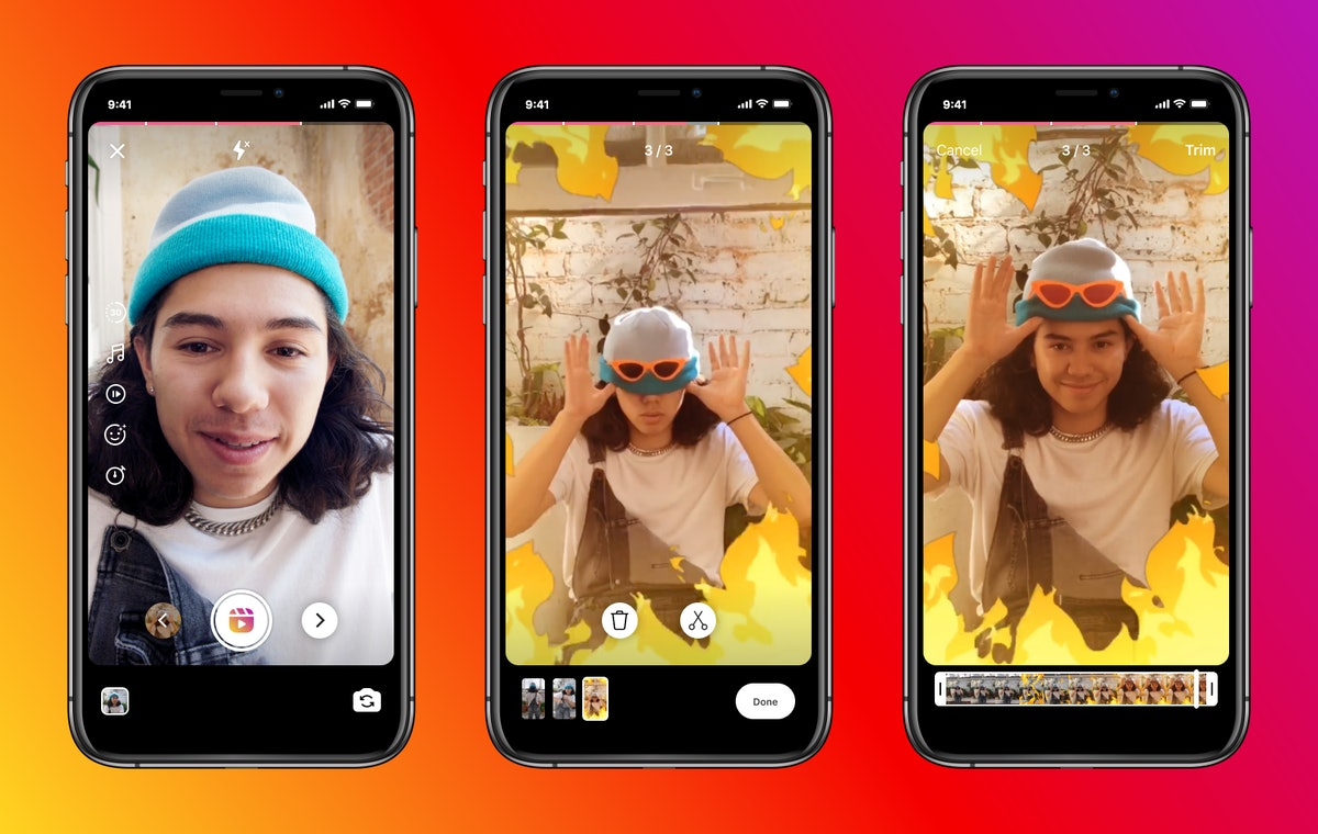 Instagram Reels' new 30-second time limit is one of the updates to the app's video creation tool.