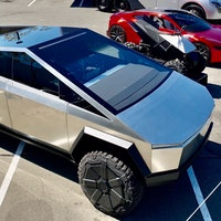 Tesla Cyberquad, Roadster and Cybertruck look stunning in rare public photo