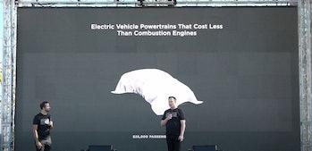 Tesla's $25,000 car.
