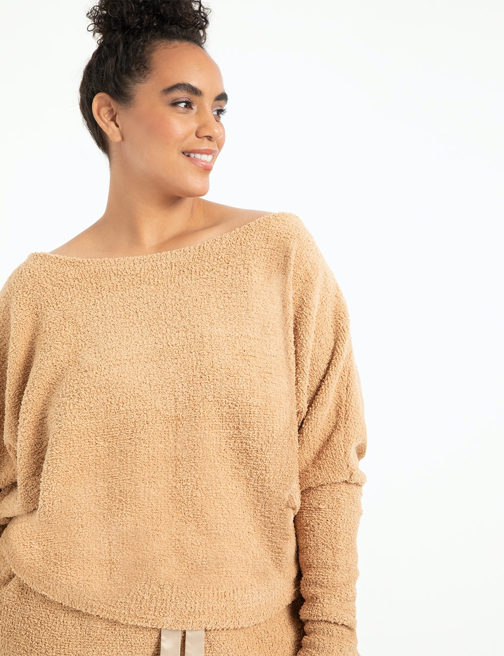 Slouchy Off the Shoulder Top