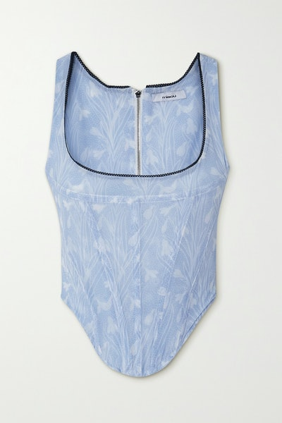 Campbell Bustier Top