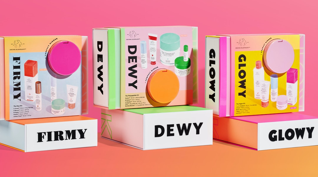 Drunk Elephant's holiday kits have arrived, each targeting a different need.
