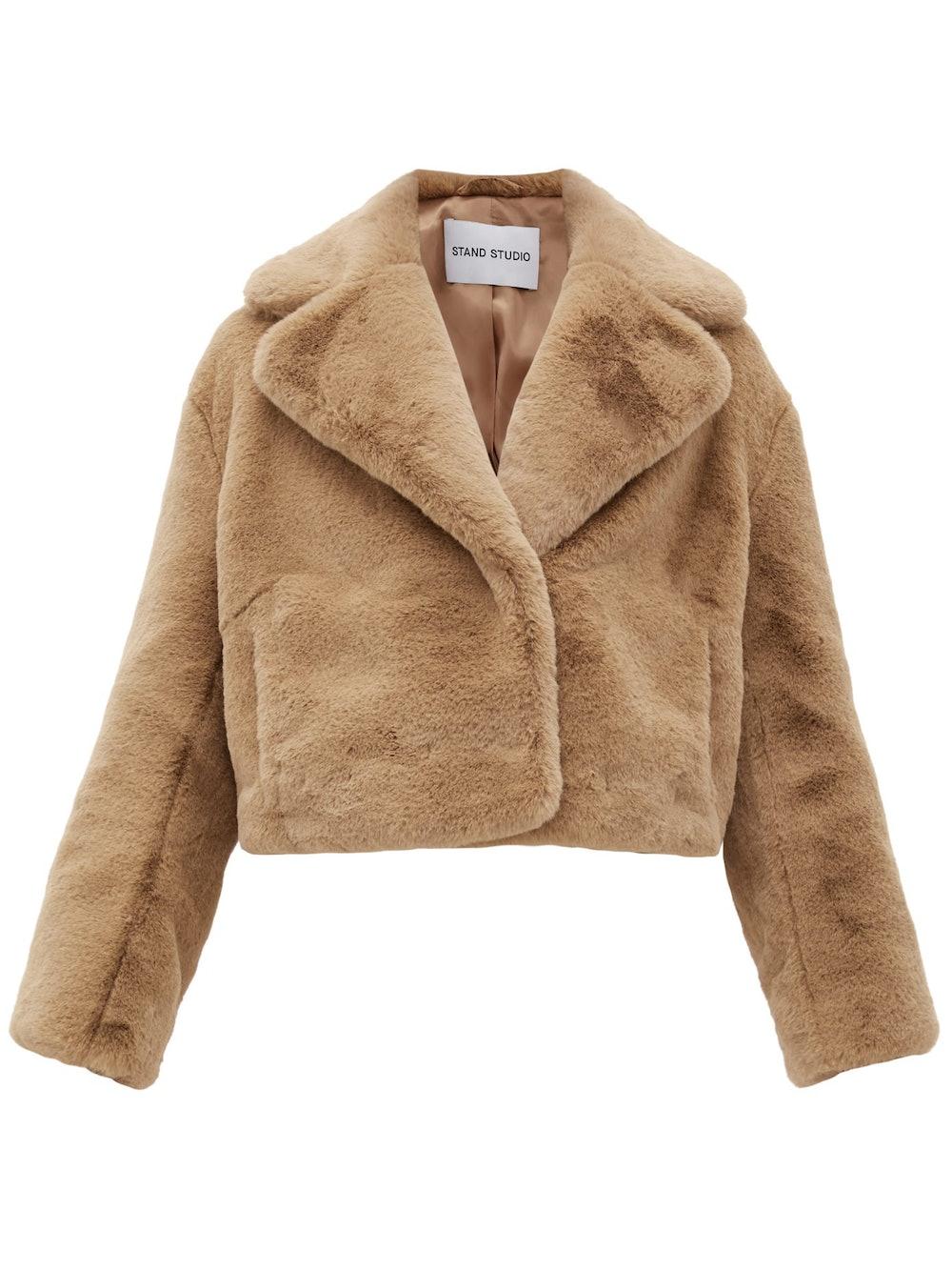 Janet faux-fur jacket