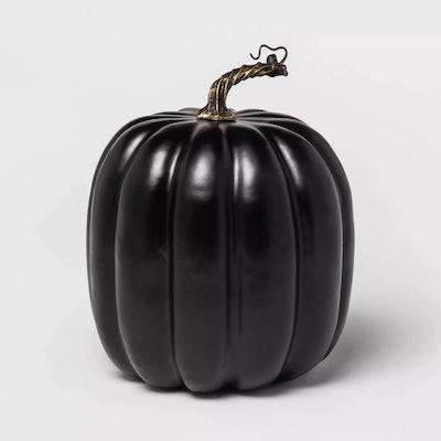 Solid Black Pumpkin