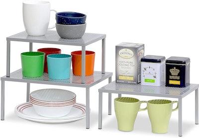 SimpleHouseware Shelf Organizers (2-Pack)