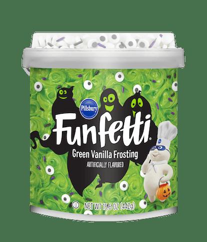 Pillsbury Funfetti Slime Green Frosting, 15.6 oz